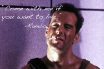 Rambo, Ռեմբո, աֆորիզմներ, հայտնի ֆիլմեր